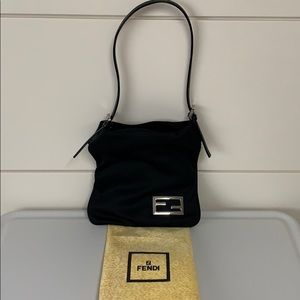 Black Fendi Shoulder Bag